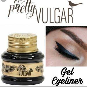 Pretty Vulgar black ink gel eyeliner pot